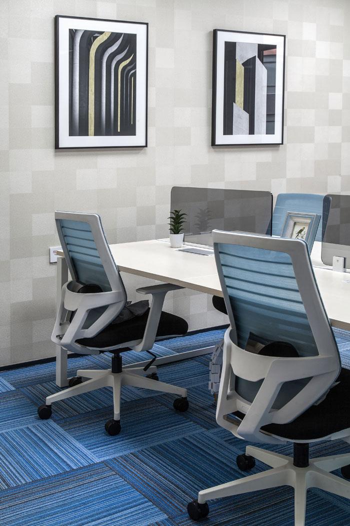 金融科技公司办公室洽谈区装修设计效果图